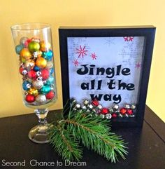 Jingle All the Way Christmas Decor. Get supplies at Flower Factory - www.flowerfactory.com