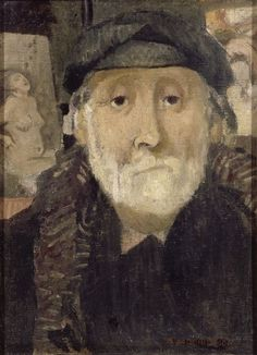 Portrait of the Painter Degas, 1906, by Maurice Denis