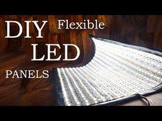 Make Some DIY Flexible LED Panels for Your Photography Lighting Kit
