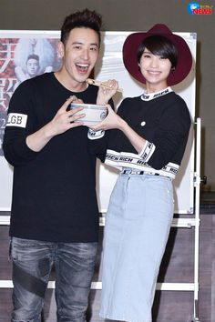Rainie visiting Wilber during his rehearsal to show her support for his concert on october 25th,