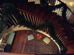 Looking down to the first floor   #winterthur