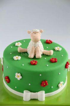Sheep cake schaap taart bakedbyb.nl