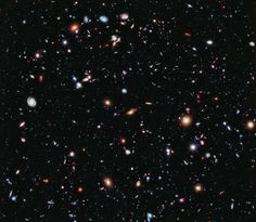 5500 galaxies in one picture courtesy of Hubble Telescope. Its camera lens is 10 billion times more light sensitive than the human eye. Wanna time travel, look at this and go back into the past