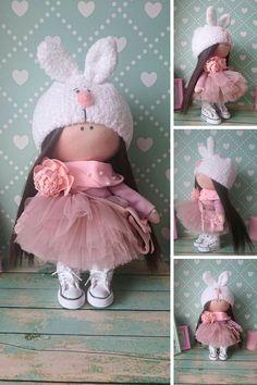 Muñecas Art doll Fabric doll Rag doll Baby by AnnKirillartPlace