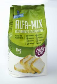 NATURBIT ALFA-MIX gluténmentes lisztkeverék 1 kg Snack Recipes, Snacks, Chips, Paleo, Muffin, Gluten Free, Vegan, Food, Snack Mix Recipes