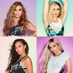 Jesy, Perrie, Leigh-Anne, Jade
