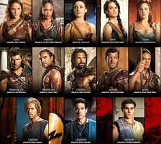 spartacus-war-of-the-damned-full -cast-season-3.jpg (800×717)