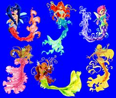 winx club mermaids or harmonix or sirenix