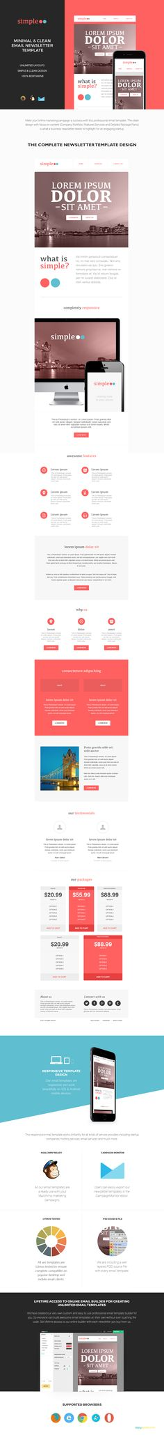 Free Email Templates by ActiveCampaign Email Template - ms word cover page templates free download