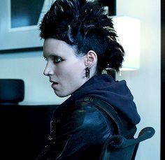 my gif gif film movie david fincher The Girl With the Dragon Tattoo Rooney Mara tgwtdt Lisbeth Salander tgwtdt gif
