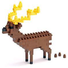nanoblock Japanese deer ナノブロック ニホンジカ