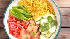 One pot pasta poulet courgette et tomates