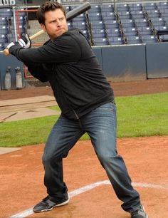 Shawn Spencer, wanting to be a baseball star.