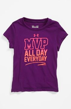 Under Armour MVP T-Shirt (Toddler Girls) | Nordstrom