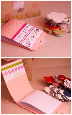 Sweet little note book!