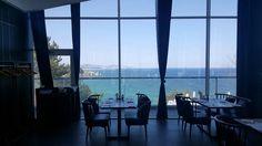 바다가 보이는 쏠비치 레스토랑