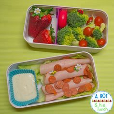 #Bento lunch for an adult in a monbento box.