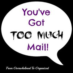 From Overwhelmed To Organized - Youve Got Too Much Email   Are you trying to get to email inbox ZERO? Here are some great… http://itz-my.com
