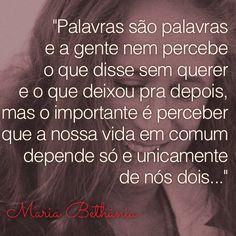 Um jeito estúpido de ser na interpretação maravilhosa de Maria Bethânia.