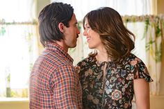 Tuesday's episode of This Is Us was, for the most part, a lighter outing: Pearson parents Rebecca (Mandy Moore) and Jack (Milo Ventimiglia) attempted to throw a trio of 10th birthday parties simultaneously for the Big Three while briefly considering adding a fourth kid to the chaos, Randall (Sterling