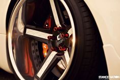 Dumped & Stanced Wide Nissan 350Z on Luxury Abstract Wheels (21)