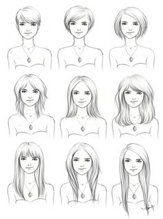 Steps to growing out a pixie! Hairstyles by ~kimpertinent on deviantART