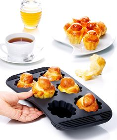 Silicone Mini Brioche Pan @Pascale Lemay De Groof
