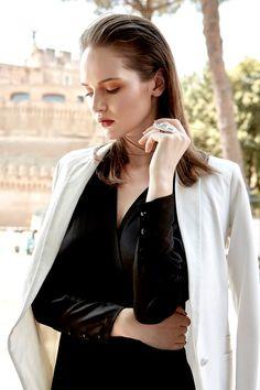 Harper's Bazaar Kazakhstan April 2017 Ieva Zemite by Federico Barbieri - Fashion Editorials