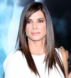 Get sleek and shiny hair like Sandra Bullock: http://www.bhg.com/beauty-fashion/hair/favorite-celebrity-hairstyles/?socsrc=bhgpin092014sandrabullock&page=10