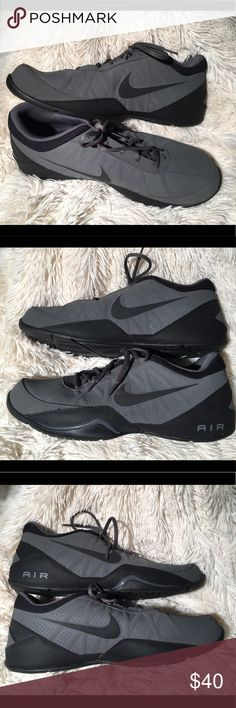 Nike Air Ring Leader Low Suede like material. Men's Size 13. Worn once and in great condition. Minor smudging on the front of one shoe (seen in 4th picture) otherwise material is almost perfect. Nike Shoes Sneakers