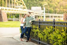 pittsburgh engagement photos, north shore engagement photos, downtown pittsburgh engagement photos, point state park engagement photos, pittsburgh engagement photographer, engagement photo ideas pittsburgh, locations for engagement photos pittsburgh, outfit ideas for engagement photos Roberto Clemente Bridge, Engagement Session, Engagement Photos, Samar, North Shore, Beautiful Lights, Sunny Days, Pittsburgh, State Parks