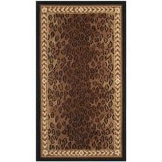 Safavieh Hand-hooked Chelsea Leopard Brown Wool Rug (2'9 x 4'9)   Overstock.com Shopping - The Best Deals on 3x5 - 4x6 Rugs