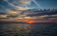 Sunset - North Atlantic Ocean