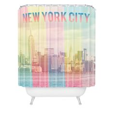 Catherine McDonald New York City Shower Curtain | DENY Designs Home Accessories