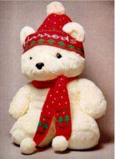 720caf4f5e4 1986  Snowy (The original Christmas bear) Harrods Christmas