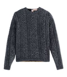 N° 21 Steel Grey Rear Embroidered Knit