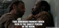 The Walking Dead...I've been dying to know what happened to Morgan and Duane, but now I wish I hadn't asked.
