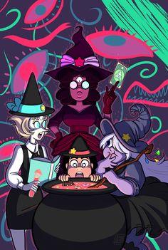 Crystal Gem Halloween