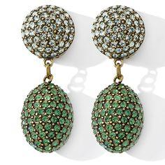 """Heidi Daus """"The Big Pretty"""" Crystal Drop Earrings"""