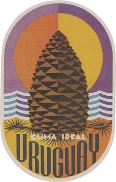 Graphic Design - Graphic Design Ideas - Clima Ideal (vintage luggage label) Graphic Design Ideas : – Picture : – Description Clima Ideal (vintage luggage label) -Read More – Vintage Poster, Vintage Travel Posters, Vintage Art, Vintage Luggage, Creative Illustration, Graphic Illustration, Vintage Hotels, Luggage Labels, Illustrations Posters