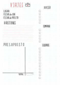 Proyectos Bullet Journal