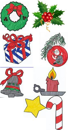 christmas symbols for kids