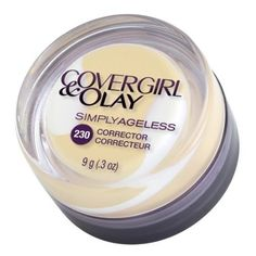 Amazon.com: CoverGirl & Olay Simply Ageless Corrector 230, 0.3-Ounce Pan: Beauty  4 stars  $9.50
