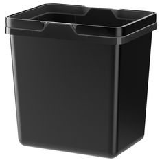 IKEA - VARIERA, Recycling bin, Folding handle makes it easy to carry, and keeps the trash bag in place.Rounded corners for easy cleaning. Ikea Drawer Dividers, Ikea Drawers, Ikea Variera, Utensil Trays, Recycling Information, Trash Bag, Recycling Bins, Ikea Kitchen, Kitchen Kit