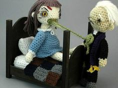 20 Creepy Horror Movie Amigurumi