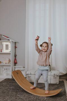 Montessori toy for kids - balance board.