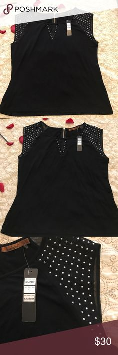 Belldini  black top Black belldini top Belldini Tops Blouses