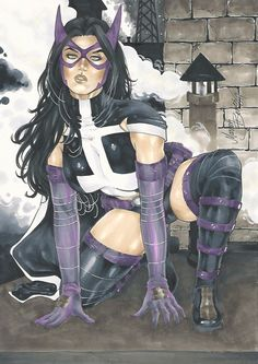 Huntress by Mariah Benes Not sure about that face, but...
