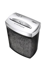"""Powershred® P70CM Cross-Cut Shredder - The Powershred® P70CM Cross-Cut Shredder was designed for personal use in the home/home office. Wide 9"""" paper entry. 1-year product and service warranty plus 3-year cutter warranty. Shreds 7 sheets per pass into 5/32 x 1-7/8"""" cross-cut particles (Security Level P-3). 4.5-gallon mesh bin; shows when basket is full. Dimensions: 15.25""""H x 12.75""""W x 7.44""""D."""