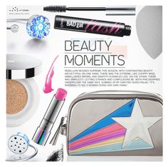"""""""Beauty Moments"""" by totwoo ❤ liked on Polyvore featuring beauty, Accessorize, Benefit, beautyblender, Lancôme and MAC Cosmetics"""